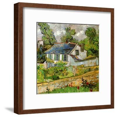 Maison a Auvers-Vincent van Gogh-Framed Art Print