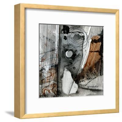 Minéralogique (Détail 1)-Sylvie Cloutier-Framed Art Print