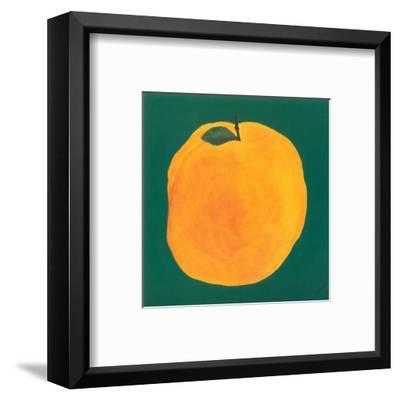 Peach-Urpina-Framed Art Print