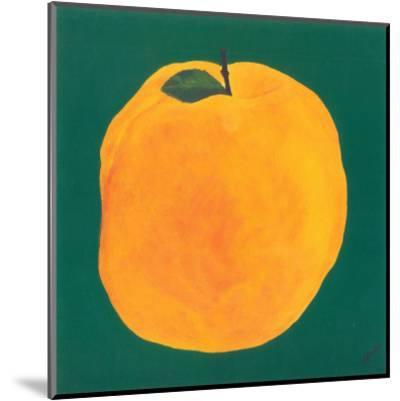 Peach-Urpina-Mounted Art Print