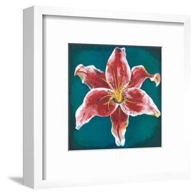 Pink Lily-Urpina-Framed Art Print