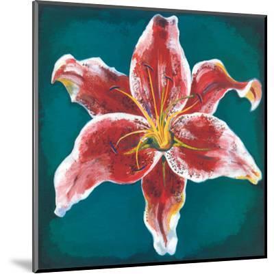 Pink Lily-Urpina-Mounted Art Print