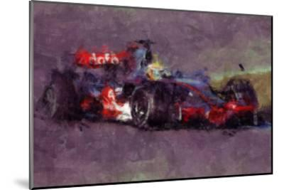 Racing Car 4-Jean-Fran?ois Dupuis-Mounted Art Print