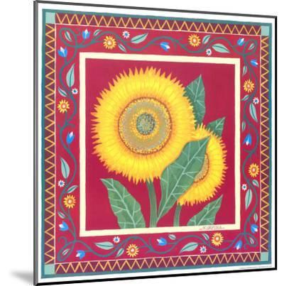 Radiant Sunflower II-Urpina-Mounted Art Print