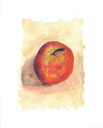 Red Apple-Urpina-Framed Art Print