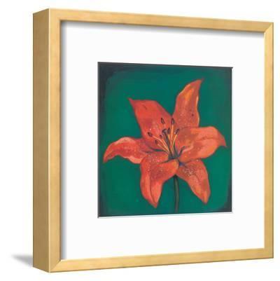 Red Lily-Urpina-Framed Art Print