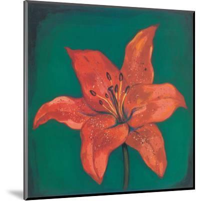 Red Lily-Urpina-Mounted Art Print