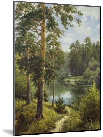Slowly River II-Igor Priscepa-Mounted Art Print