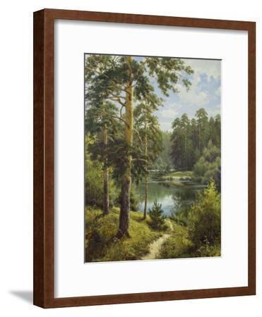 Slowly River II-Igor Priscepa-Framed Art Print