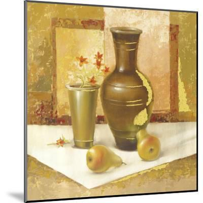 Still Life With Pears-Babicev Vjaceslav-Mounted Art Print
