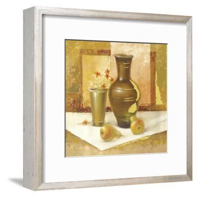 Still Life With Pears-Babicev Vjaceslav-Framed Art Print