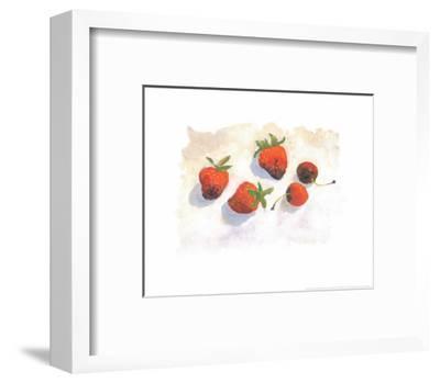 Strawberries-Urpina-Framed Art Print