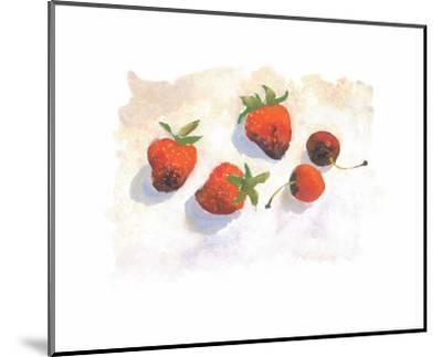 Strawberries-Urpina-Mounted Art Print