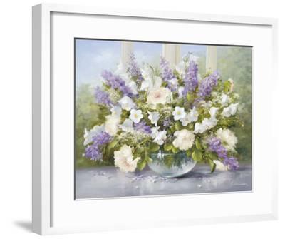 Summer Greetings I--Framed Art Print