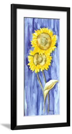 Sunflower Triptych I-Evol Lo-Framed Art Print