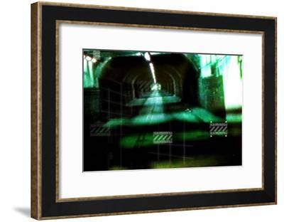 Taxi III-Jean-Fran?ois Dupuis-Framed Art Print
