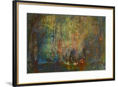 Textural Abstract I-Jean-Fran?ois Dupuis-Framed Art Print
