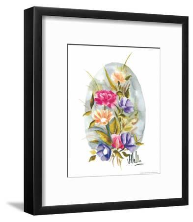 Watercolour Flower II-Urpina-Framed Art Print