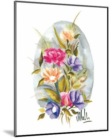 Watercolour Flower II-Urpina-Mounted Art Print