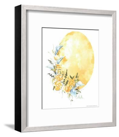 Watercolour Flower IV-Urpina-Framed Art Print