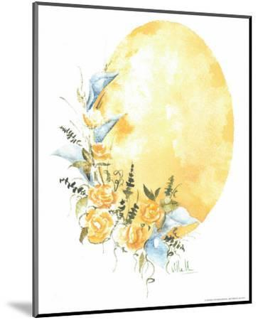 Watercolour Flower IV-Urpina-Mounted Art Print