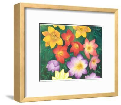 Wild Flowers I-Urpina-Framed Art Print