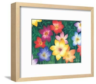 Wild Flowers II-Urpina-Framed Art Print