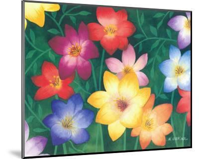 Wild Flowers II-Urpina-Mounted Art Print