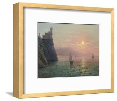 Yalta Sunset-A^ Gorjacev-Framed Art Print