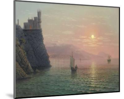 Yalta Sunset-A^ Gorjacev-Mounted Art Print