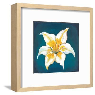 Yellow Lily-Urpina-Framed Art Print