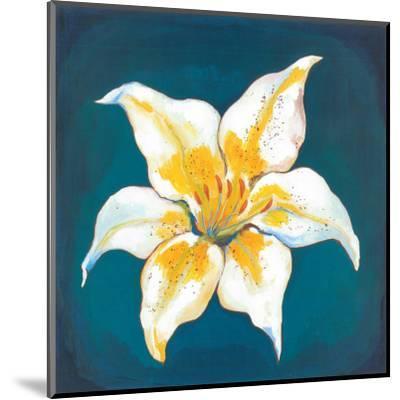 Yellow Lily-Urpina-Mounted Art Print