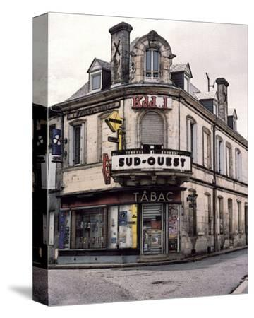 Sud-Ouest Tabac Store at the Corner-Richard Sutton-Stretched Canvas Print