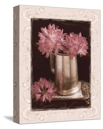Pink Flowers Fresh Cuts I-Richard Sutton-Stretched Canvas Print