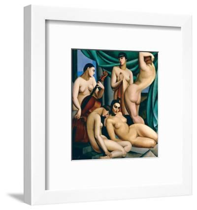 Le Rythme-Tamara de Lempicka-Framed Premium Giclee Print