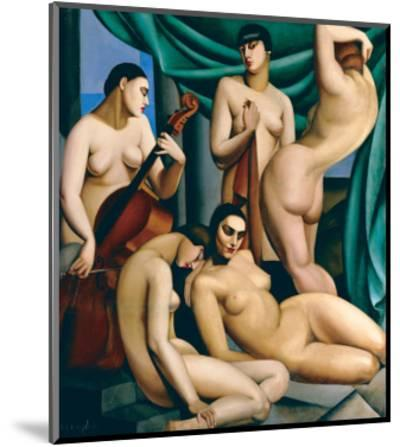 Le Rythme-Tamara de Lempicka-Mounted Premium Giclee Print