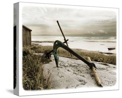 Ancre Sur Plage-Joane Mcdermott-Stretched Canvas Print