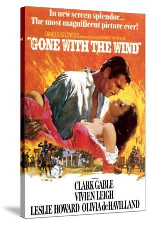 Gone with the Wind--Stretched Canvas Print