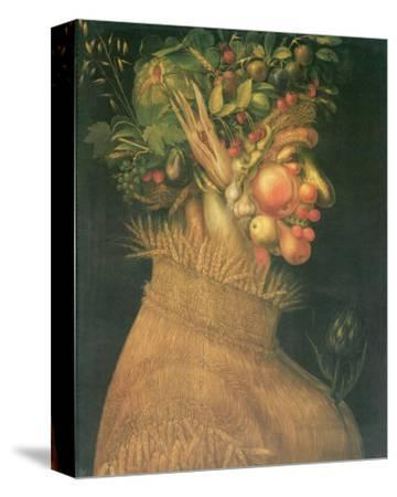 Summer-Giuseppe Arcimboldo-Stretched Canvas Print