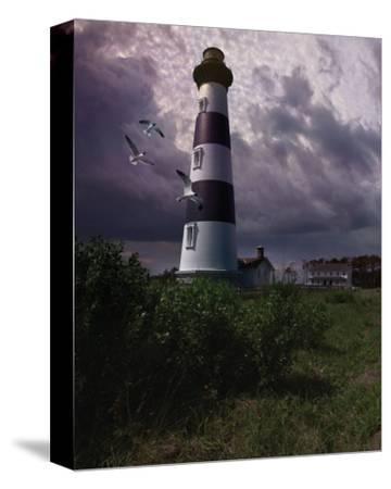 Bodie Island II-Steve Hunziker-Stretched Canvas Print