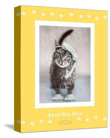 Deep-Sea Diva-Rachael Hale-Stretched Canvas Print