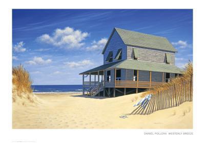 Westerly Breeze-Daniel Pollera-Art Print