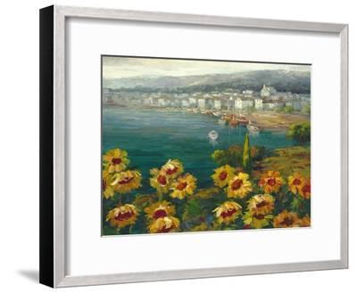 Sunflower Harbor-Lawson-Framed Art Print