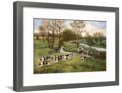 A Hot Scent-G^d^ Rowlandson-Framed Art Print