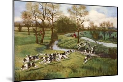 A Hot Scent-G^d^ Rowlandson-Mounted Art Print