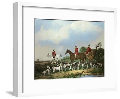 The Old Berkshire Hunt-Goode-Framed Art Print
