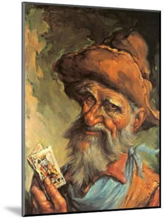A Good Hand-Endre Szabo-Mounted Art Print
