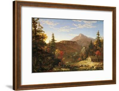 The Hunter's Return-Thomas Cole-Framed Art Print