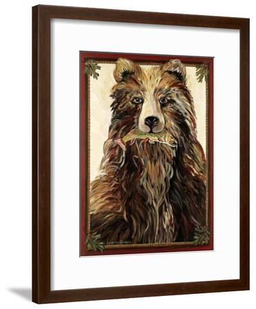 The Bear-Suzanne Etienne-Framed Art Print