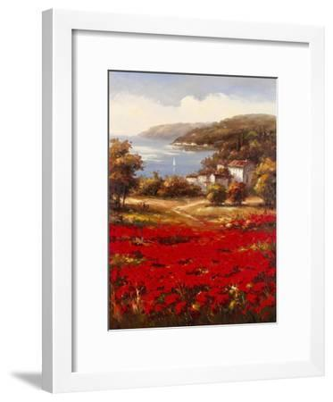 Poppy Harbor-Marino-Framed Art Print